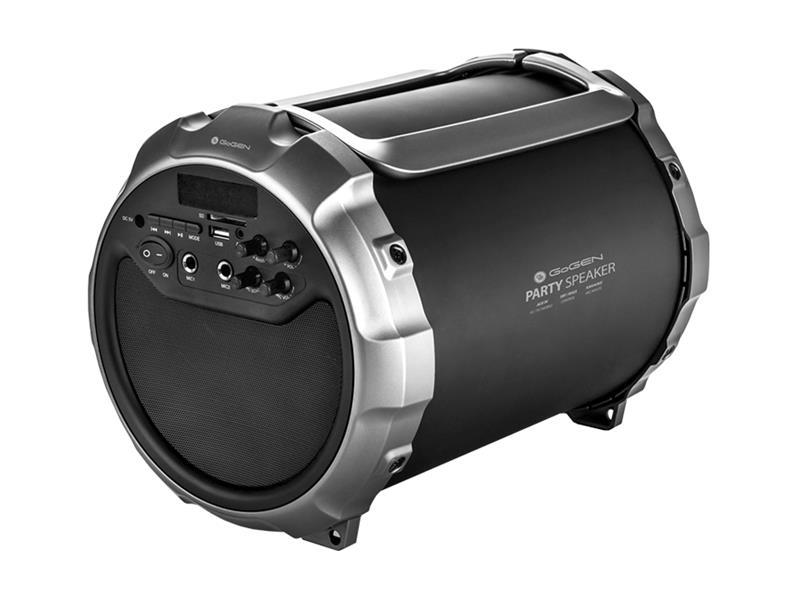 Reproduktor přenosný GOGEN BPS528B BLUETOOTH, USB, SD, FM, AUX-IN + mikrofon
