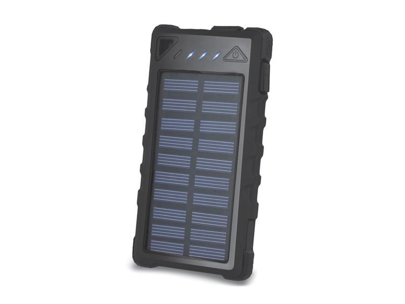 PowerBank 8000 mAh solární FOREVER STB-300 černá