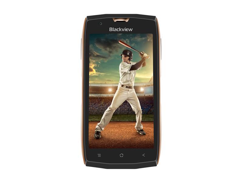 Telefon iGET BLACKVIEW GBV7000 zlatý