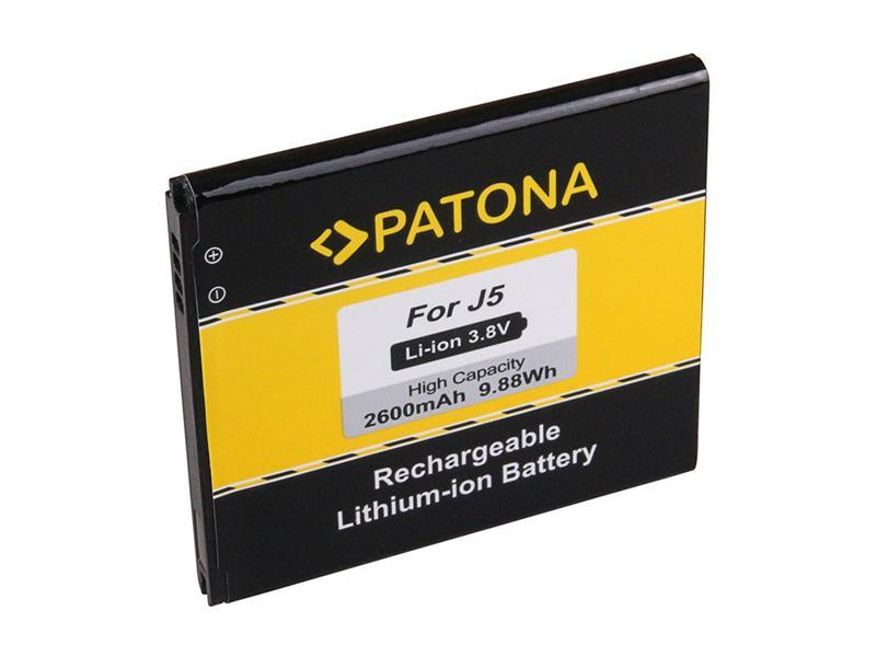 Baterie gsm SAMSUNG GALAXY J5 2600mAh PATONA PT3158 neoriginální