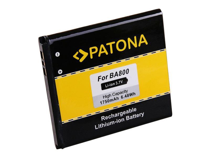 Baterie gsm SONY ERICSSON BA800 1750mAh PATONA PT3133 neoriginální