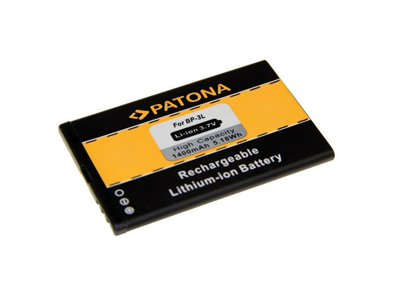 Baterie gsm NOKIA BP-3L 1400mAh PATONA PT3043 neoriginální