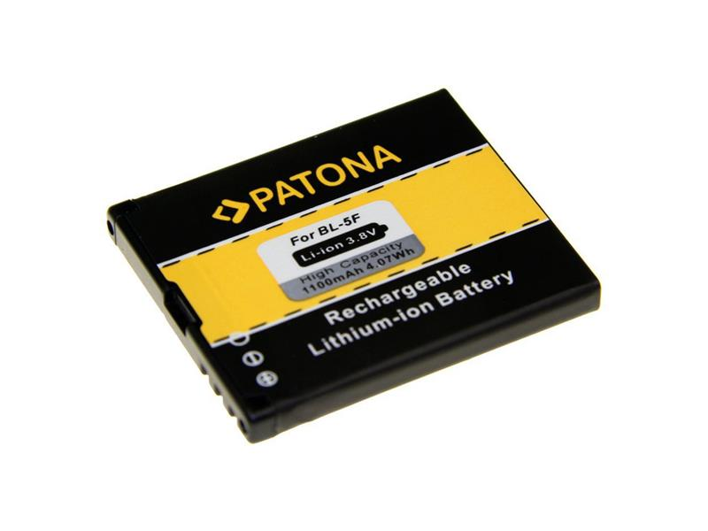 Baterie gsm NOKIA BL-5F 1100mAh PATONA PT3035
