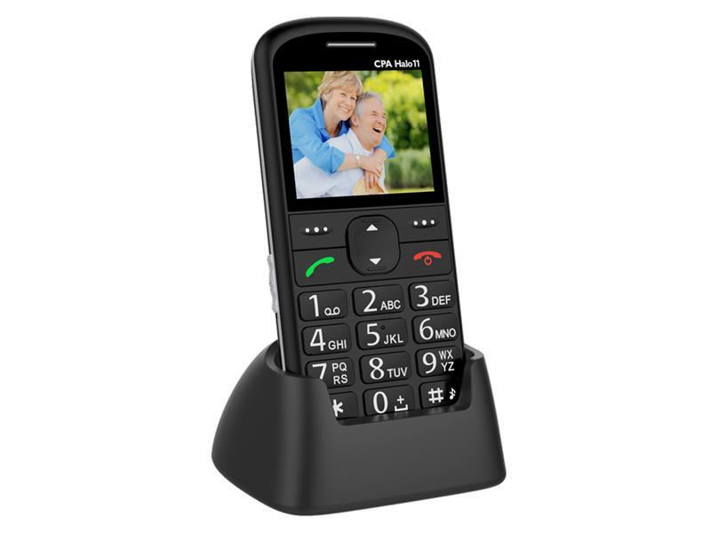 Telefon CPA HALO 11 černý