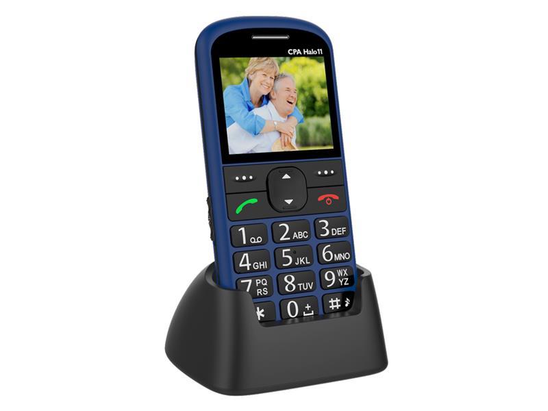 Telefon CPA HALO 11 modrý