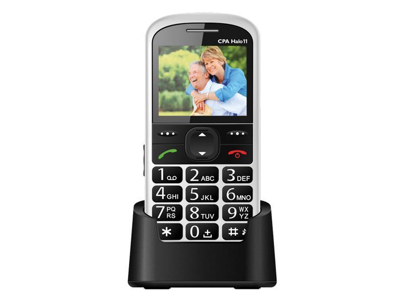 Telefon CPA HALO 11 bílý