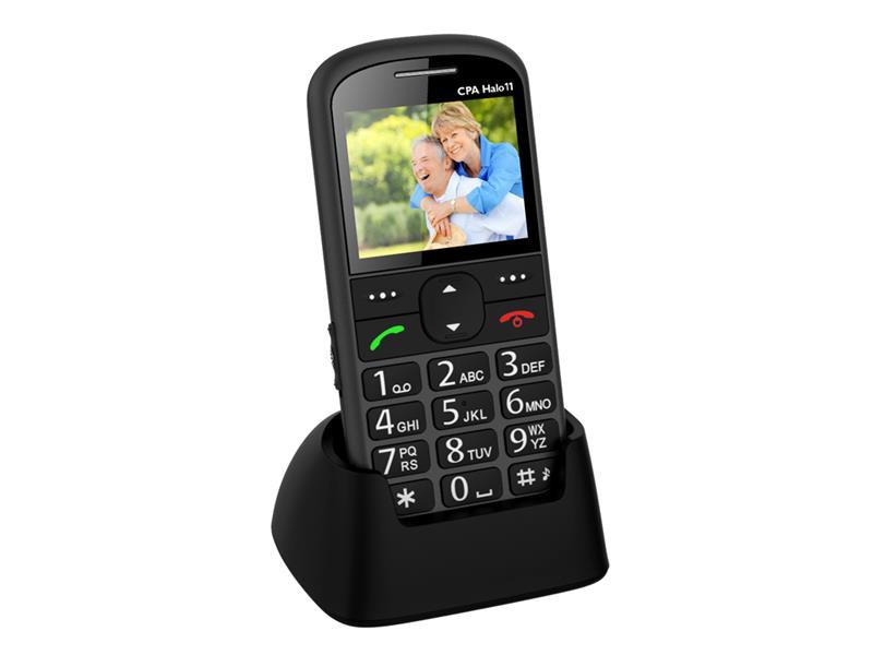 Telefon CPA HALO 11 šedý