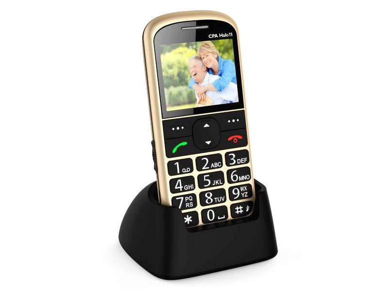 Telefon CPA HALO 11 SENIOR GOLD