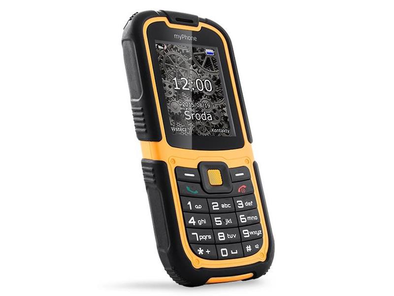 Telefon MYPHONE HAMMER 2 oranžový