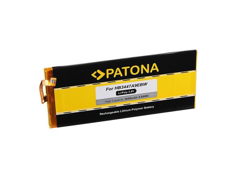 Baterie gsm HUAWEI P8 HB3447A9EBW 2600mAh PATONA PT3197 neoriginální