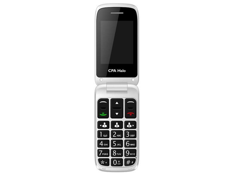 Telefon CPA HALO 15 černý