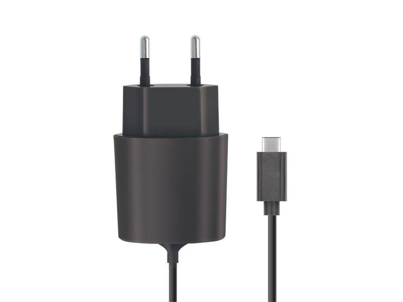 Nabíječka do sítě USB C-TYPE 2100 mAh FOREVER BLACK