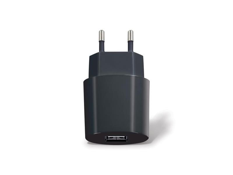 Nabíječka do sítě USB 2100 mAh FOREVER černá