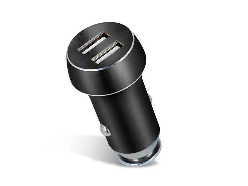Nabíječka do auta 2x USB 3100 mAh FOREVER černá TFOBK
