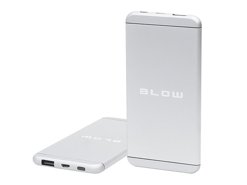 PowerBank 8000 mAh BLOW PB17 stříbrná