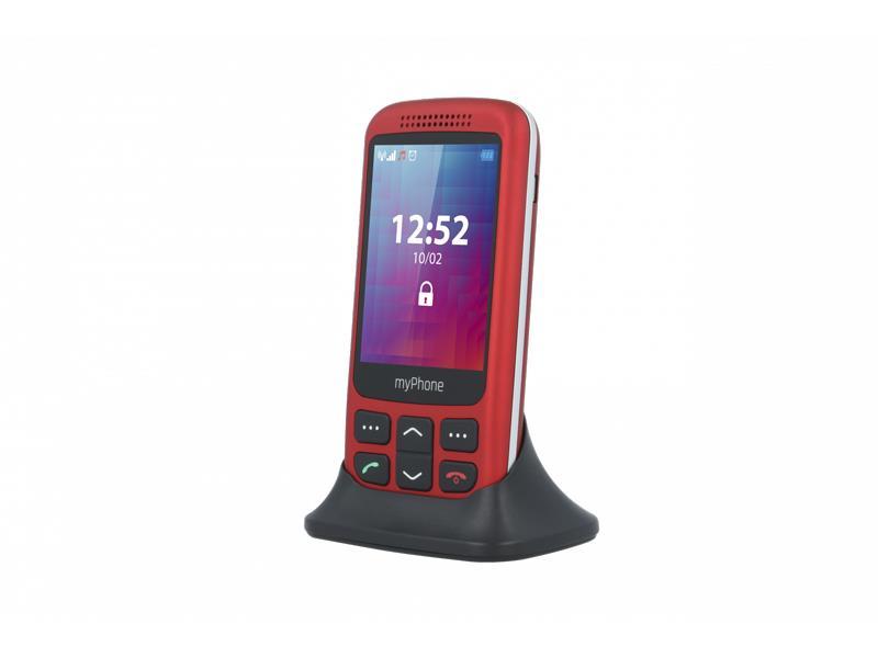 Telefon MYPHONE HALO S červený