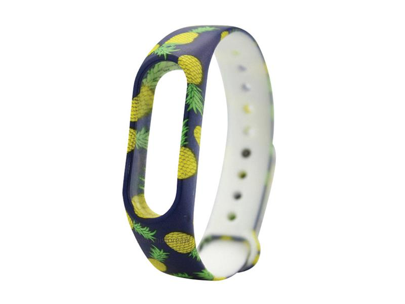 Řemínek XIAOMI MI BAND 2 YELLOW PINEAPPLE