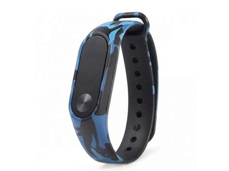 Řemínek XIAOMI MI BAND 2 BLUE ARMY