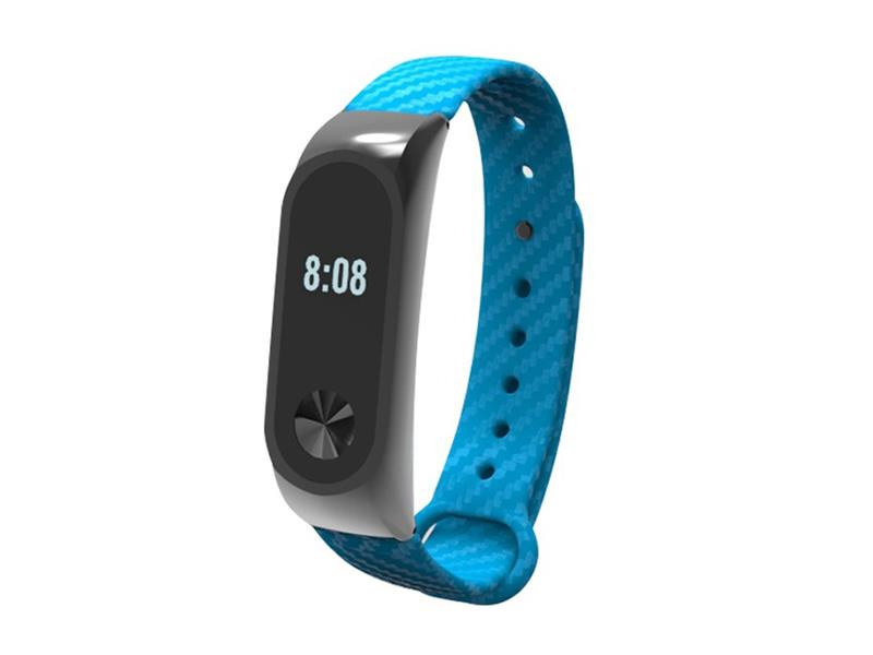 Řemínek XIAOMI MI BAND 2 CARBON BLUE