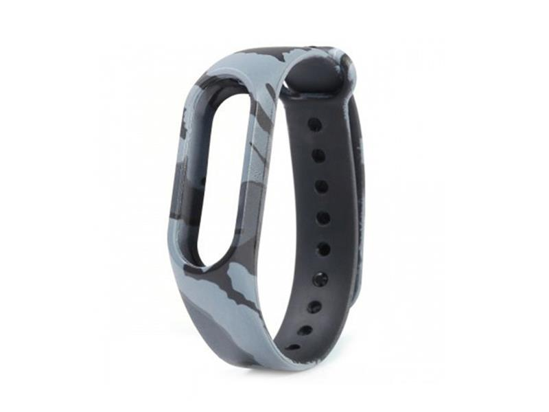 Řemínek XIAOMI MI BAND 2 GREY ARMY