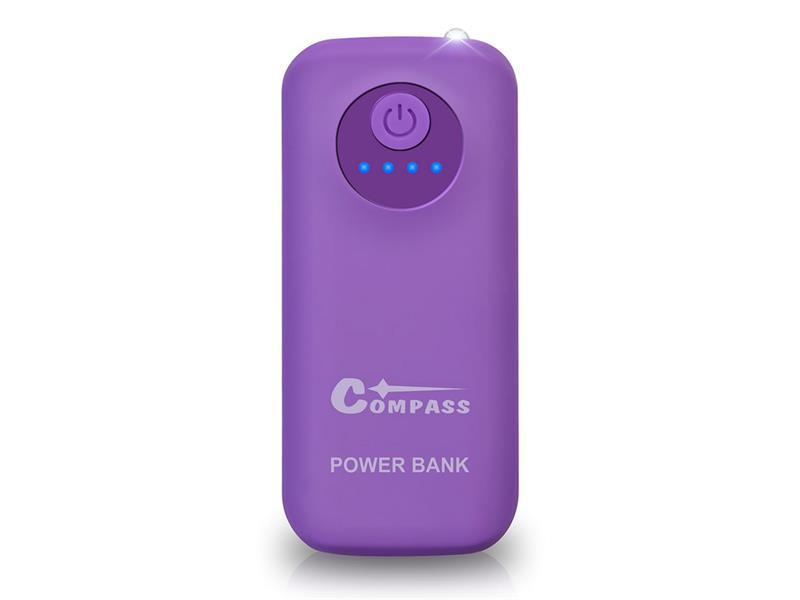 PowerBank 5200mAh + 30cm kabel