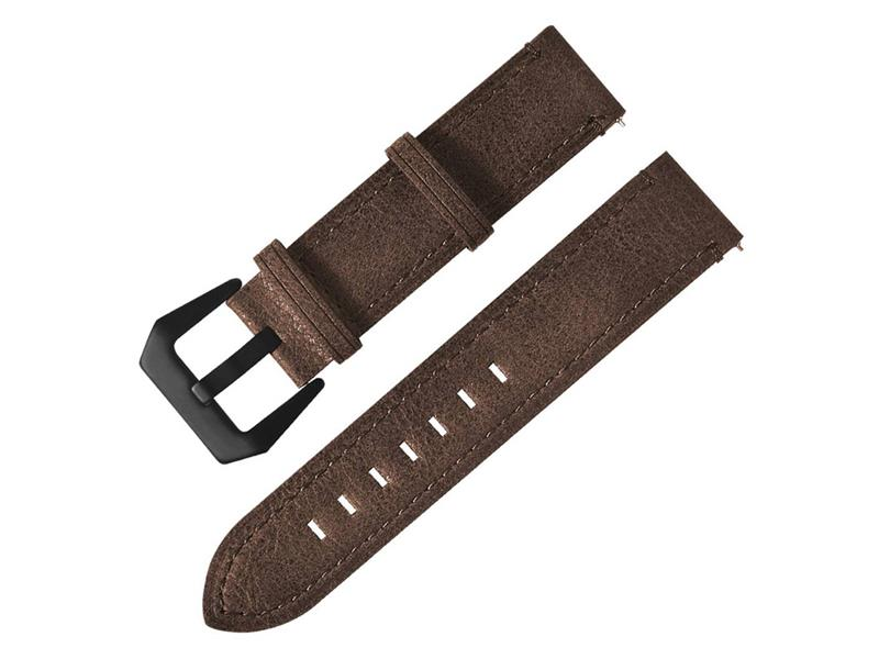 Řemínek XIAOMI AMAZFIT BIP LEATHER BROWN