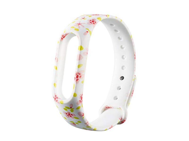 Řemínek XIAOMI MI BAND 2 MIX FLOWERS