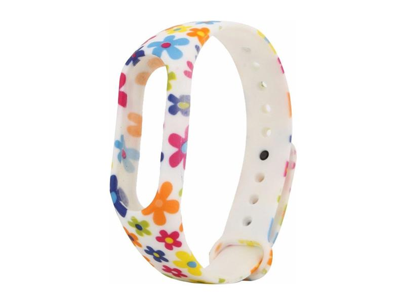Řemínek XIAOMI MI BAND 2 COLOR FLOWERS