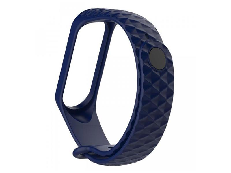 Řemínek XIAOMI MI BAND 3 DIAMOND DARK BLUE