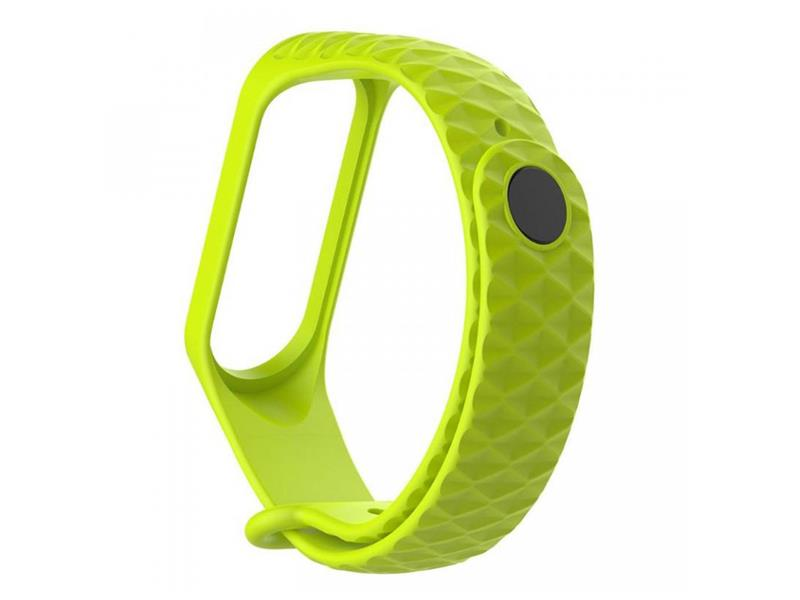 Řemínek XIAOMI MI BAND 3 DIAMOND GREEN