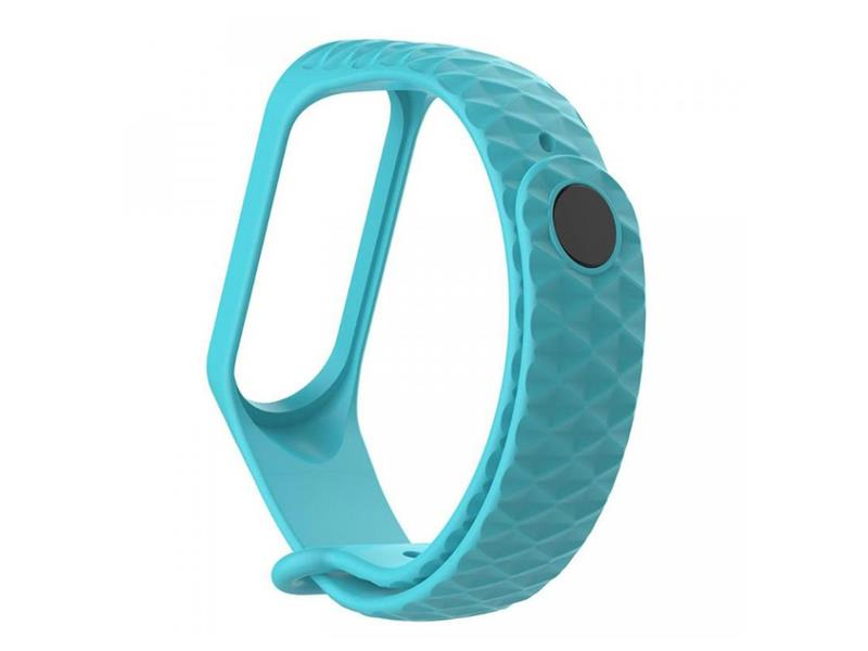 Řemínek XIAOMI MI BAND 3 DIAMOND LIGHT BLUE