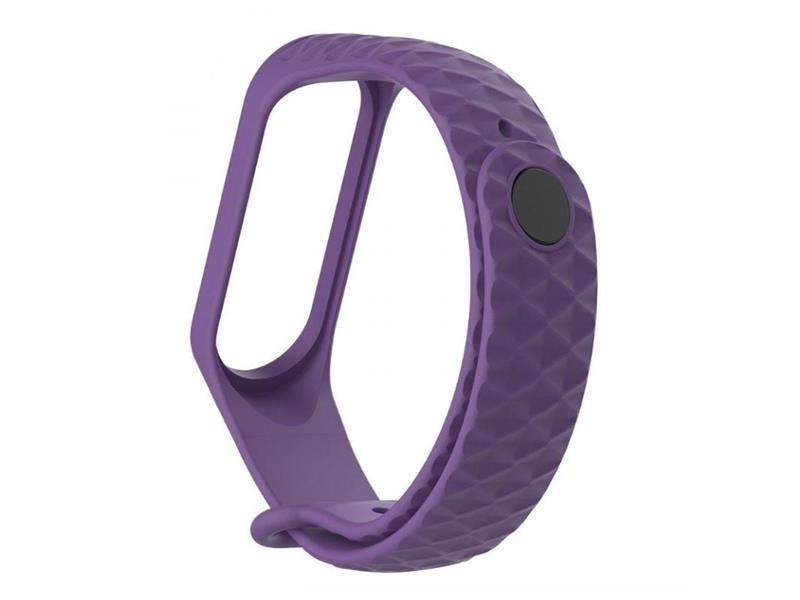 Řemínek XIAOMI MI BAND 3 DIAMOND PURPLE
