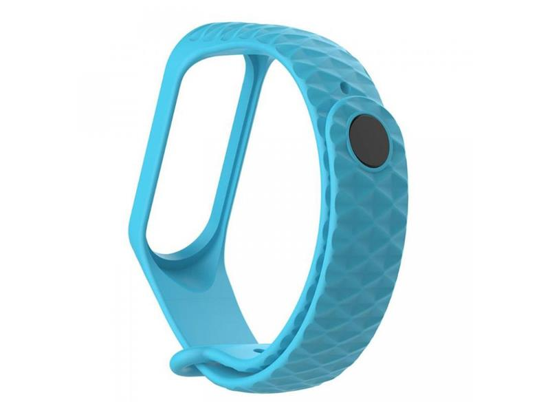Řemínek XIAOMI MI BAND 3 DIAMOND SKY BLUE