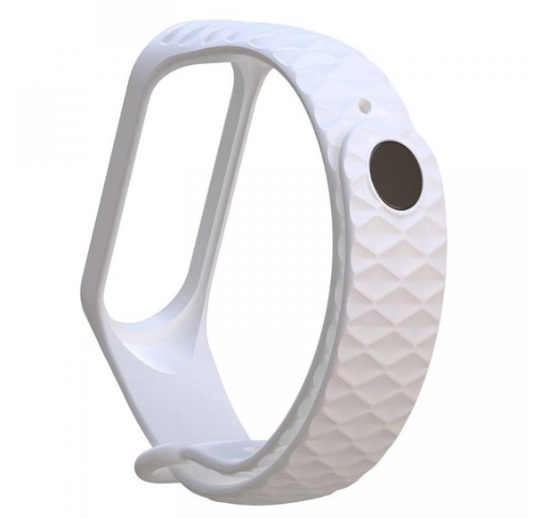 Řemínek XIAOMI MI BAND 3 DIAMOND WHITE