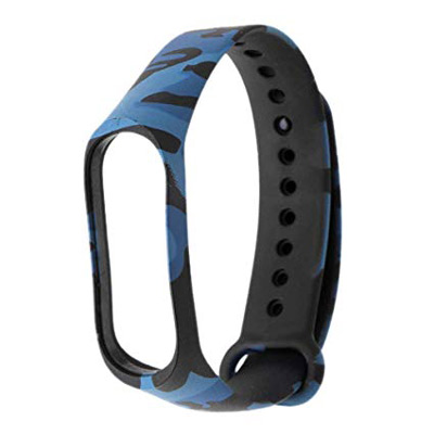Řemínek XIAOMI MI BAND 3 BLUE ARMY