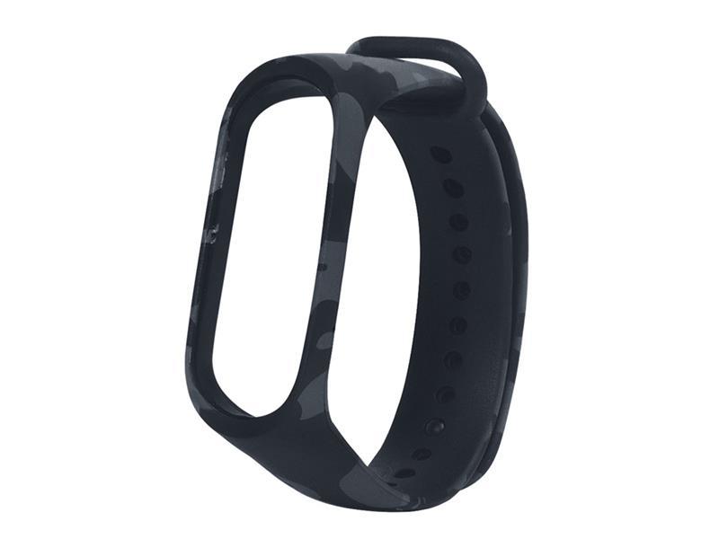 Řemínek XIAOMI MI BAND 3 GREY ARMY