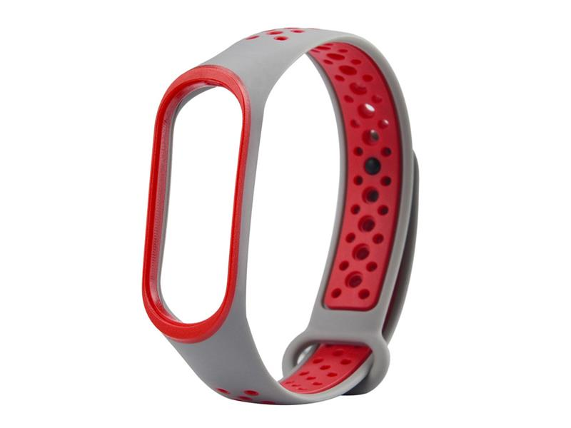 Řemínek XIAOMI MI BAND 3 SPORT WHITE / RED