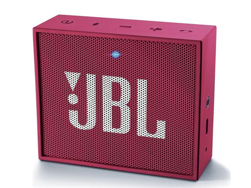 Reproduktor přenosný BLUETOOTH JBL GO PINK