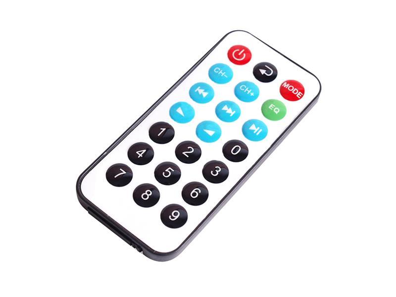 MP3 modul s FM rádiem a bluetooth - dálkové ovládání