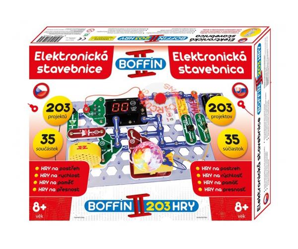 Stavebnice elektronická BOFFIN II 203 HRY