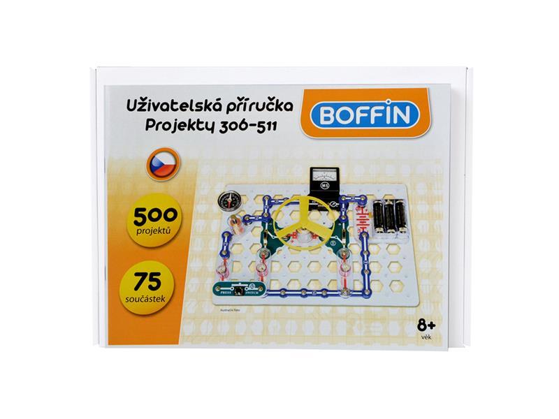 Stavebnice elektronická BOFFIN I 300 - rozšíření na BOFFIN I 500
