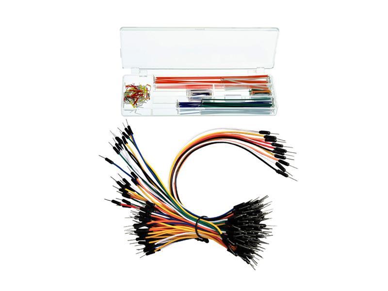 Propojovací kablíky a drátky pro zkušební nepájivé kontaktní pole