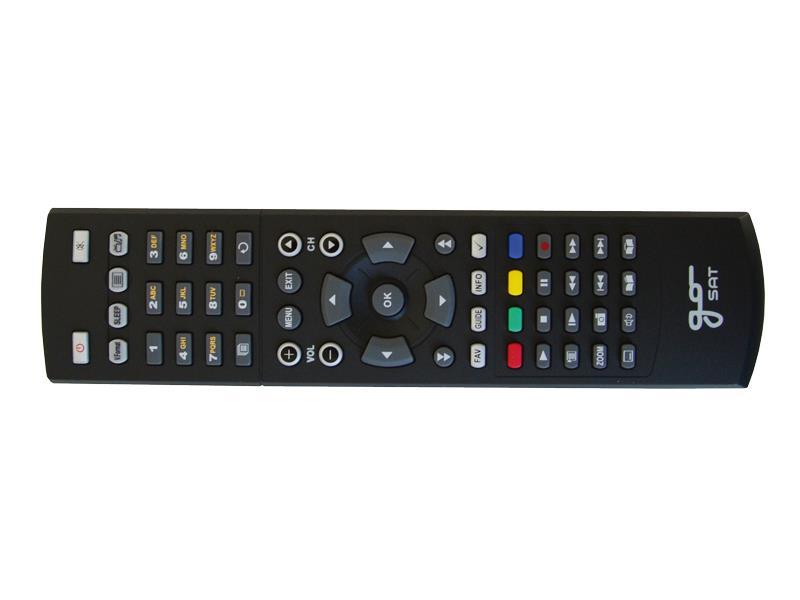 Ovladač dálkový GoSAT HbbTV (6050,7070,7075)