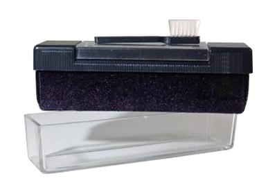 Sametový kartáček na čištění vinylových desek