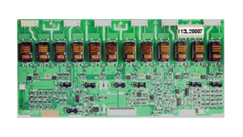 LCD modul měniče  HR I12L20007     12 lamp