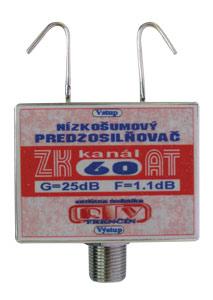 Anténní zesilovač ZK60AT 25dB  F