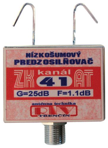 Anténní zesilovač ZK41AT 25dB F DOPRODEJ