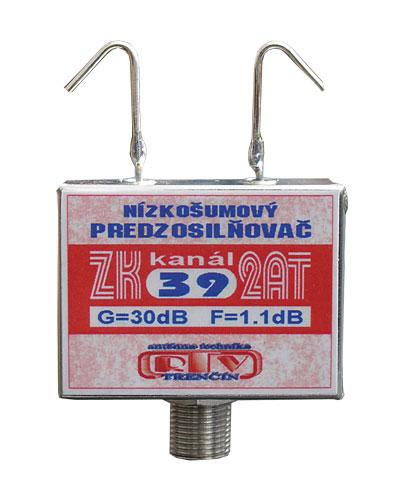 Anténní zesilovač ZK39 2AT 30dB  F
