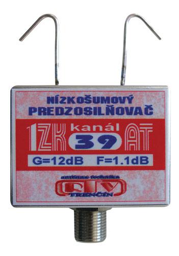Anténní zesilovač 1ZK39AT 12dB  F