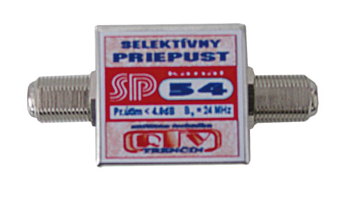 Anténní propust SP54 F-F